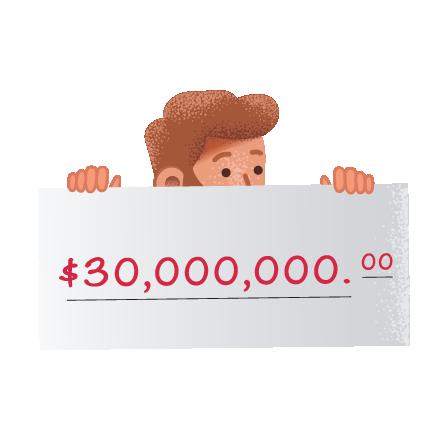 Les gagnants du Mega Millions sur theLotter
